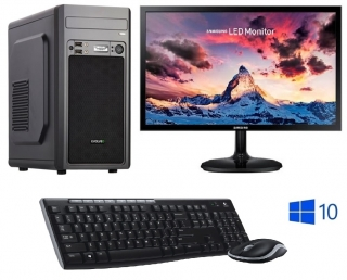 "INTEL Celeron G5900 Dual Core,DDR4 RAM 8GB,HDD 1000GB,INTEL UHD Graphic 610,DVD,22""LCD Samsung,WIN10,SET"