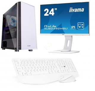 "INTEL Core i5-10400F Hexa Core,DDR4 RAM 8GB,ASUS TUF Geforce GTX 1650 4GB,SSD 256GB,HDD 1000GB,24""LCD monitor Iiyama,SET"